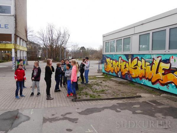 Schüler an der Berchenschule | Foto: Kirsten Schlüter